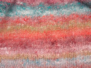 Noro knitted