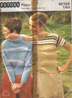 cc2ba8f91ea3df Vintage knitting - dovegreyreader scribbles
