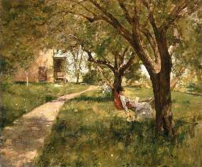 Afternoon in the Hammock Walter Launt Palmer 1882