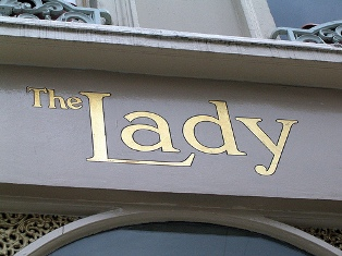 The lady 2