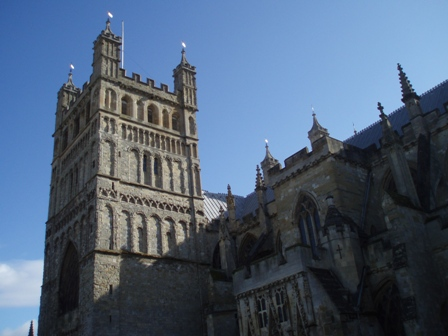 Exeter Cathedral - exterior