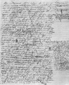 Tolstoy- manuscript