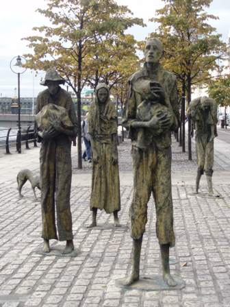 Dublin, The Famine Memorial
