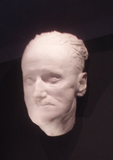 James Joyce death mask