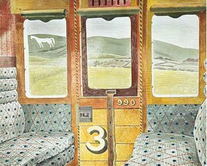 Train Landscape, 1939 © Estate of Eric Ravilious