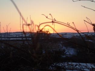 Xmas 10 sunset