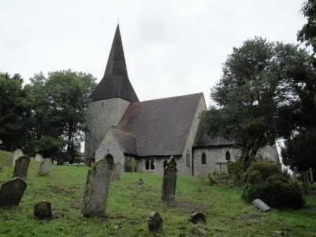 Berwick Church, Sussex