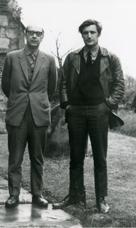 Philip Larkin &Ted Hughes  copyright Faber& Faber