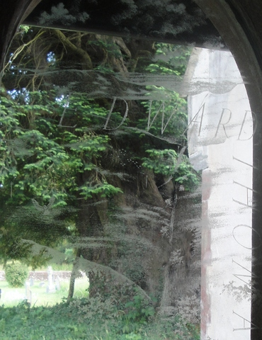 Edward Thomas window, Steep Church
