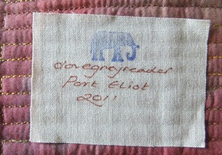 Port eliot rc quilts label