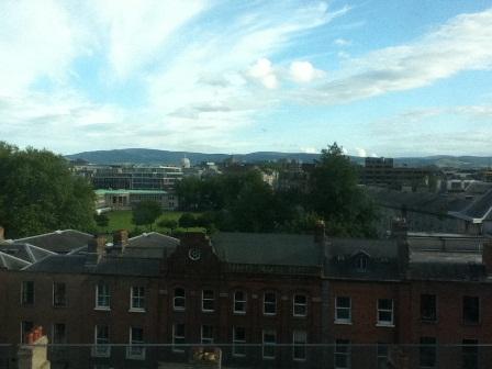 DUBLIN 2011 hotel view