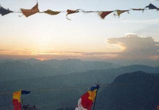Sunrise Adam's Peak from Wikipaedia