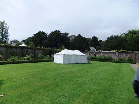 Port Eliot dovegreyreader tent