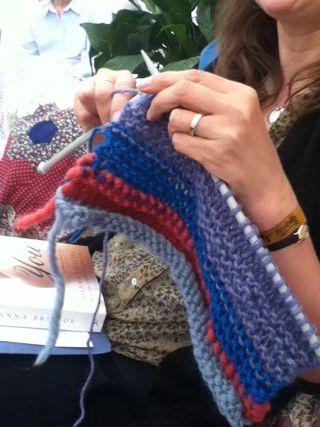 Port eliot 2011 Joanna Briscoe knitting