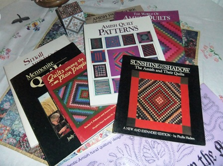 Amish quilt books
