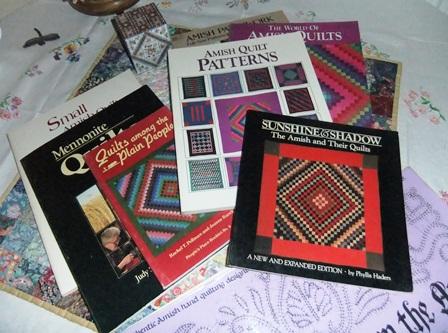 Amish quilt books