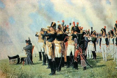 W&pNapoleon at Battle of Borodino