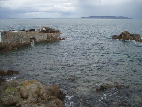 Forty Foot bathing pool, Sandycove, Dublin