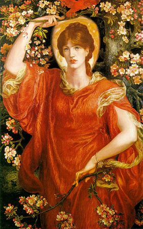 A Vision of Fiammetta - Rosetti,(from the collection of Andrew Lloyd Webber)