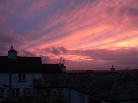 Sunset november 2
