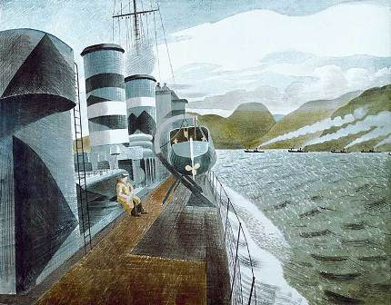 Eric-ravilious-leaving-scapa-flow