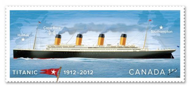 Titanic (1) stamp