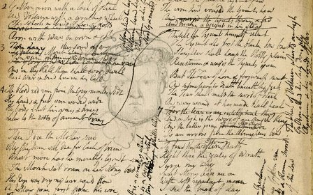 William Blake's notebook British Library