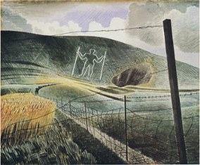 Wilmington Giant ~ copyright The Estate of Eric Ravilious