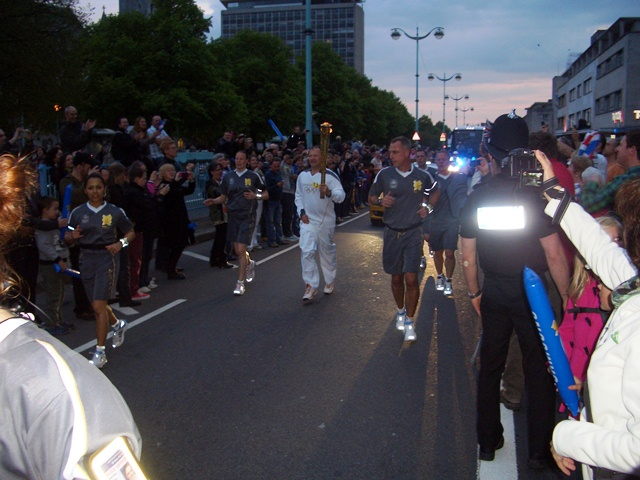 London 2012 torch relay 1