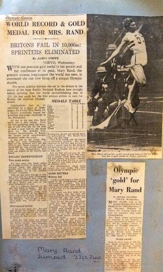 Tokyo Olympics 1964 Mary Rand - Long Jump