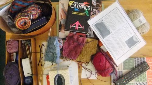 Olympic knitting 1