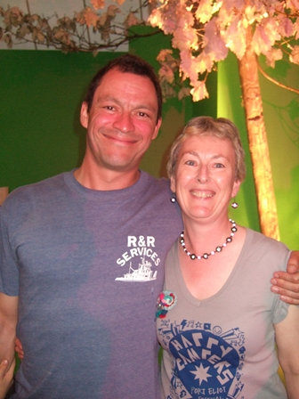 A very Happy Camper with Dominic West