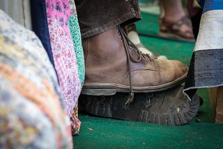 Robert Macfarlane's boots are made for walking...