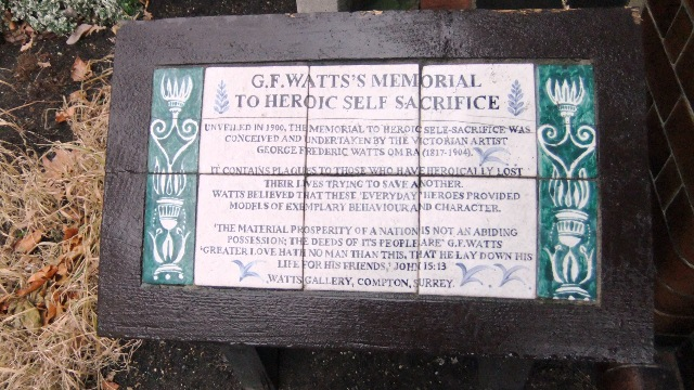 G.F.Watts's Memorial, London