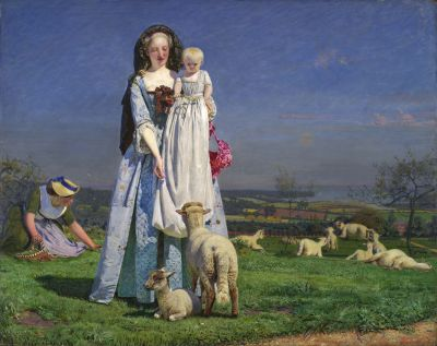 Pretty Baa Lambs ~ Ford Madox Brown, Birmingham Art Galleries