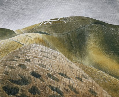 Vale of the White Horse ~ Eric Ravilious (copyright