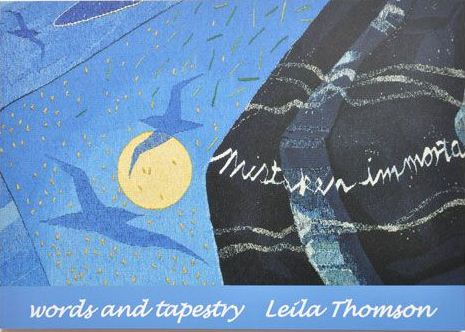 Orkney 2012 hoxa words_tapestry_book