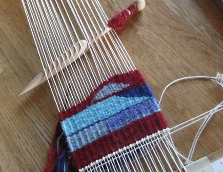 My foray into weaving...