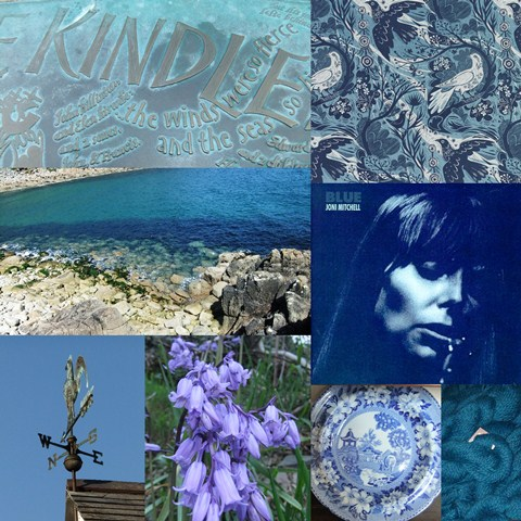 Blue colourboration