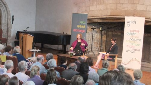 Hilary Mantel at Dartington July 2012