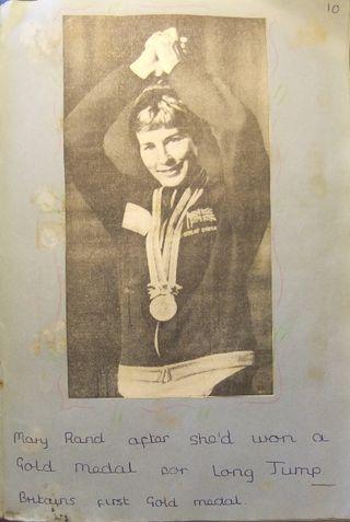 Olympics Tokyo 1964 - Mary Rand
