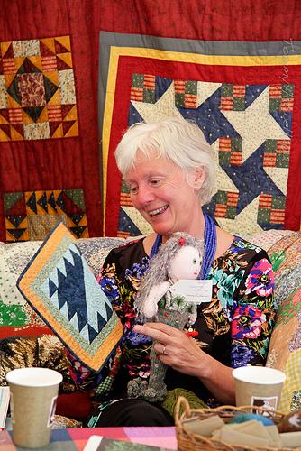 Susie Parr at Port Eliot Festival 2012