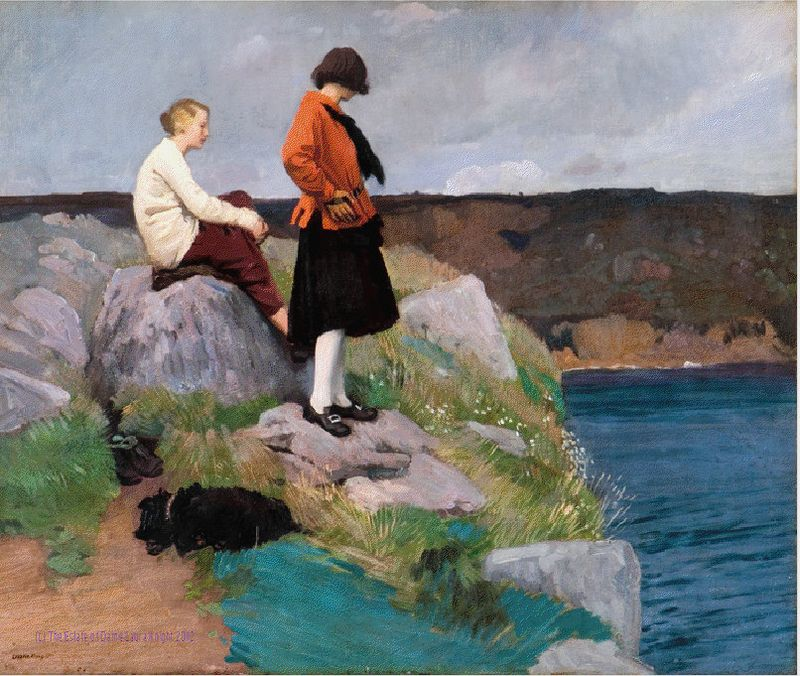 Cornish Coast ~ Dame Laura Knight