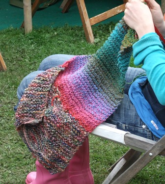 Port Eliot knitting...