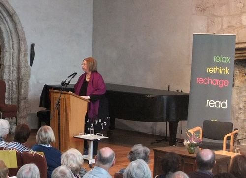 Hilary Mantel at Dartington, July 2012