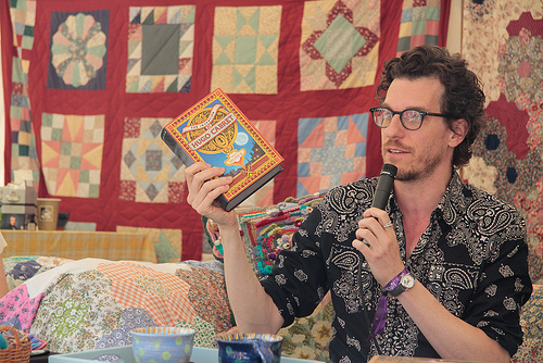 Brian Selznick at Port Eliot Festival 2012