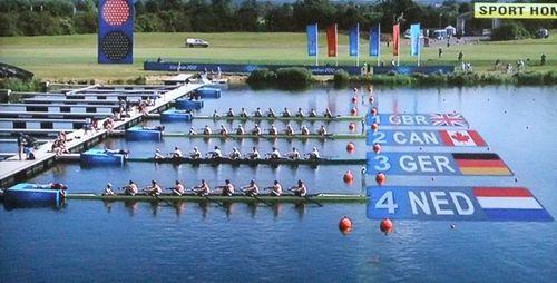 Sat - Olympics rowing