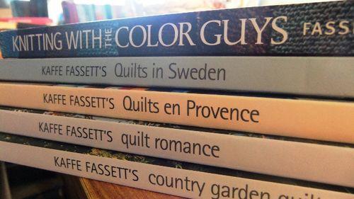 Kaffe's books...