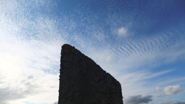 Orkney 2012 brodgar + sky +stone
