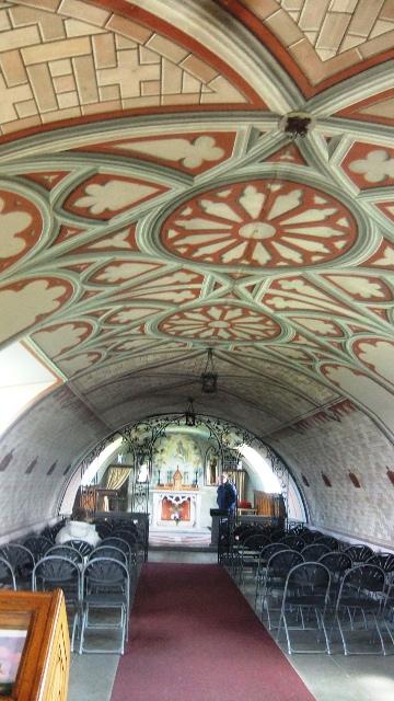 Orkney 2012 italian chapel + interior
